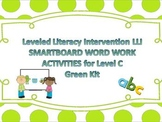 Leveled Literacy Intervention Smartboard Activities Green Level C 1st Edition