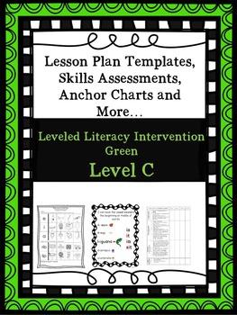 LLI Anchor Charts, Skills Assessments, Lesson Plan Templates Green C 1st Edition