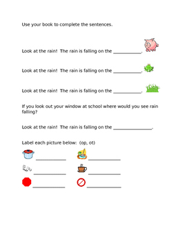 Leveled Literacy Intervention-Orange Level B FREE SAMPLE