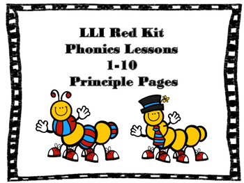 Leveled Literacy Intervention Phonics Lessons 1-10
