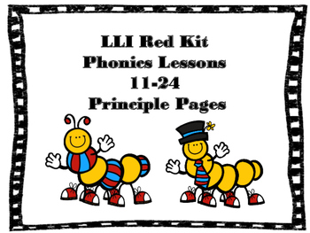 Leveled Literacy Intervention Phonics Lessons 11-24