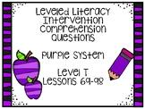 Leveled Literacy Intervention Purple Kit Level T