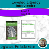 Leveled Literacy Intervention Purple R Graphic Organizers