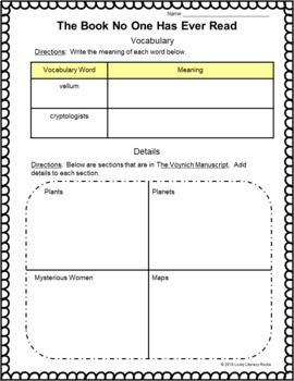 Leveled Literacy Intervention Purple (W) Graphic Organizers for Google Drive