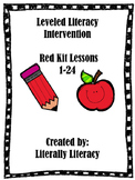 Leveled Literacy Intervention Red Kit 1-24