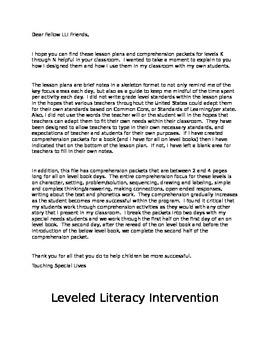 Leveled Literacy Intervention-blue Bundled K, L, M, N- 40 lessons & 93 comp pgs