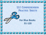 Leveled Literacy Interventions (LLI) Worksheets-Blue Books
