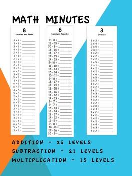Leveled Math Minutes