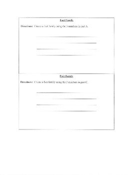 Leveled Math Prompts for Fall (Problem Solving)