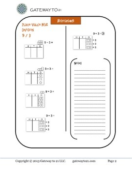 Math Leveled Strategies and Skill Building (Division)