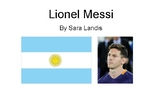 Leveled Nonfiction Text on Lionel Messi (DRA level 16/18)