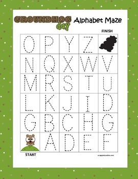 Leveled Number & Alphabet Tracing Mazes Holiday & Seasons Bundle