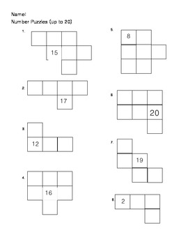Leveled Number Sense Assessments
