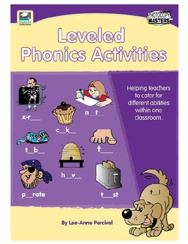 Leveled Phonics Activities - Catering for Different Abilities in One Classroom