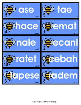 Leveled Phonics Work - Vowel Digraphs & More - RS Unit 4