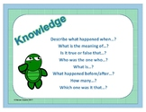 Leveled Question Stem Cards