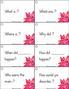 Leveled Question Stems