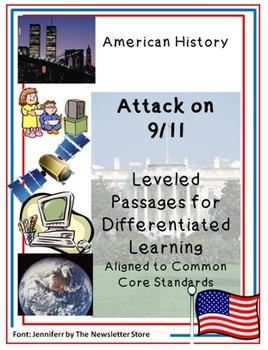 Leveled Rdg Passages for Differentiation: Attacks on 9/11 September 11, 2001
