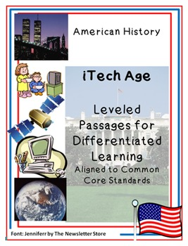 Leveled Rdg Passages for Differentiation:  iTech Age