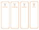 Leveled Reader Bookmark/Tabs