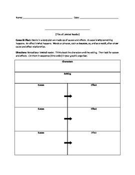 Leveled Reader Cause & Effect