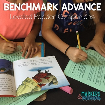 Benchmark Advance Leveled Reader Companions for Third Grade (GROWING BUNDLE!)