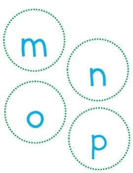 Leveled Reader Letter Cards
