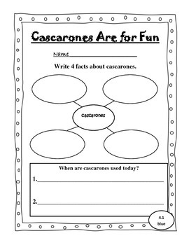 Leveled Reader Activity Sheets for Scott Foresman Reading Street (Unit 4)