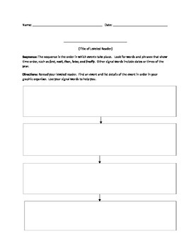 Leveled Reader Sequence
