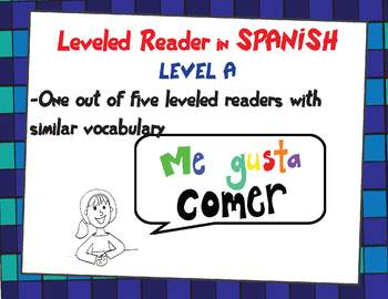 Leveled Reader in Spanish