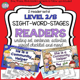 Community Helpers Sight Word Readers and Activities