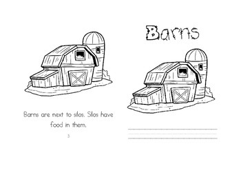 Leveled Readers: Farm Unit - Barns