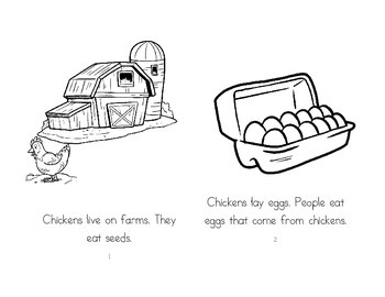 Leveled Readers: Farm Unit - Chickens
