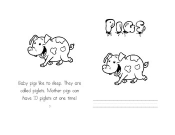 Leveled Readers: Farm Unit - Pigs