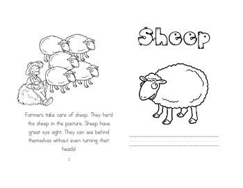 Leveled Readers: Farm Unit - Sheep