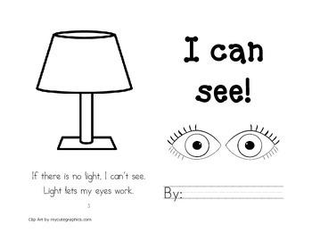 Leveled Readers: Five Senses Unit - Sense of Sight