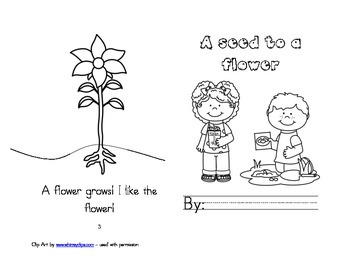 Leveled Readers: Plant Life Cycle Unit - From Seed to Flower
