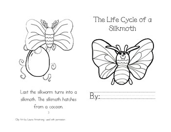 Leveled Readers: Life Cycle Unit -  The Life Cycle of a Silkmoth