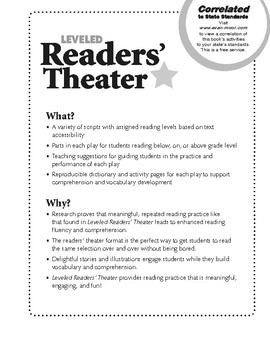 Leveled Readers' Theater, Grade 6