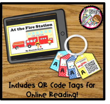 Leveled Readers for Guided Reading - Community Helpers - Levels A, B, & C
