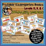 Printable Leveled Books for Kindergarten - Community Helpers - Levels A, B, & C