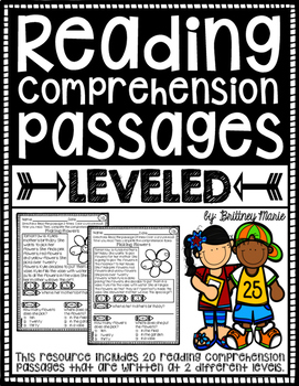 Differentiated Reading Passages
