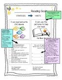 Leveled Reading Goal Sheets: Goal Setting
