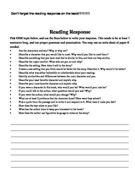 Leveled Reading Logs