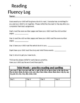 Leveled Reading Logs