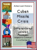 Leveled Reading Passages for Differentiated Learning: Cuban Missile Crisis