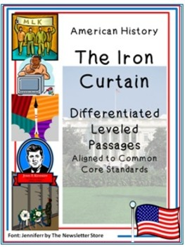 Leveled Reading Passages for Differentiated Learning: The Iron Curtain