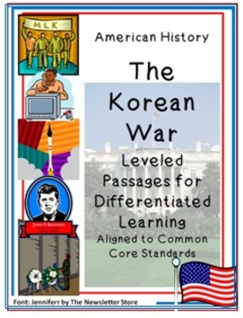 Leveled Reading Passages for Differentiated Learning: The Korean War
