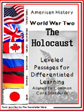 Leveled Reading Passages for Differentiated Learning: WWII The Holocaust