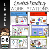 Guided Reading Work Stations for Level E